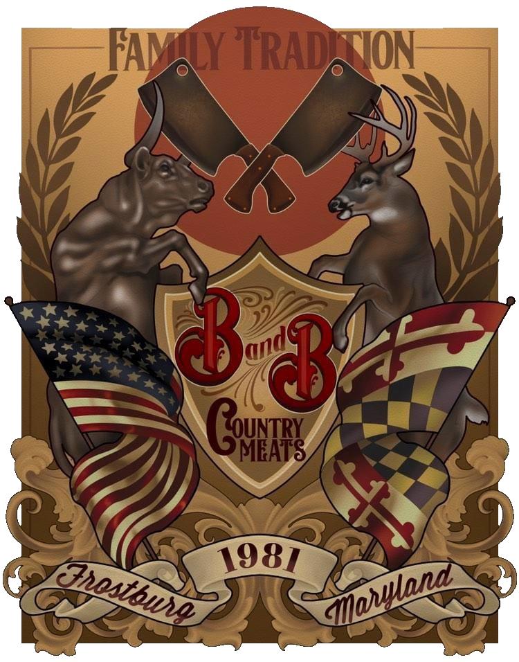 B&B Meats Emblem Transparent
